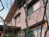 家屋西側、植栽直後。